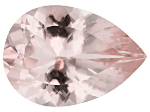 Morganite 14x10mm Pear Min 4.45ct