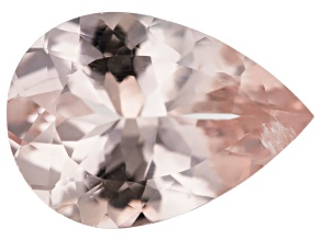 Morganite 14x10mm Pear Min 3.65ct