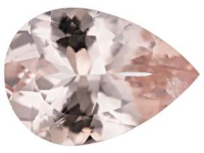 Morganite 14x10mm Pear Shape 3.65ct