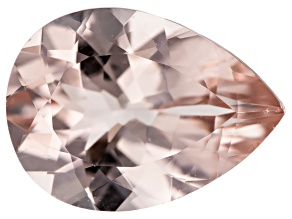 Morganite 12x9mm Pear Min 3.00ct