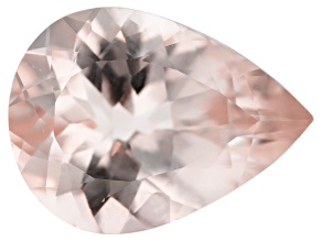 Morganite 12x9mm Pear Min 2.67ct