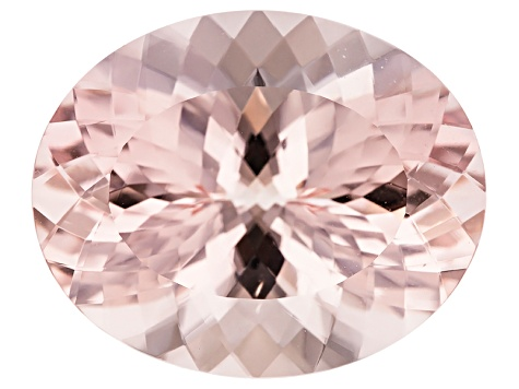 Morganite 26x21mm Oval 38.78ct