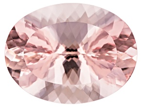 Morganite 25x19mm Oval Min 33.23ct
