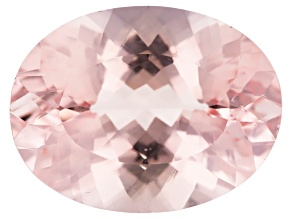 Morganite 21x16mm Oval Min 18.44ct