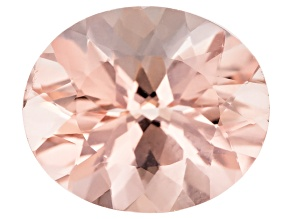 Morganite 14x12mm Oval Min 6.69ct