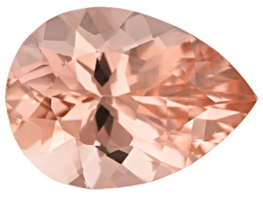 Morganite 15x11mm Pear Cut Min 5.50ct