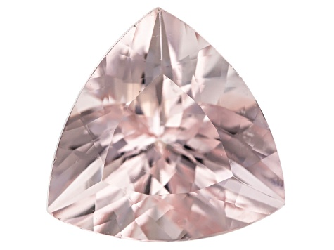 Morganite 11x11mm Trillion Min 4.37ct