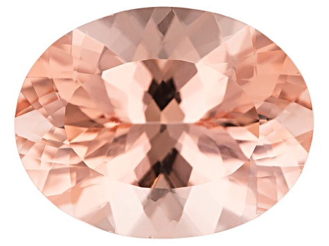 Morganite 18x14mm Oval 12.61ct