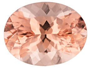 Morganite 17x13mm Oval Min 11.29ct