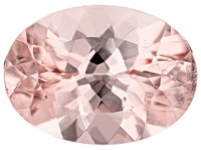Morganite 15x11mm Oval 6.78ct