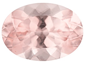 Morganite 14x10mm oval 5.61ct