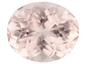 Morganite 5.23ct 11.5x10mm Oval Mined: Pakistan/Cut: India