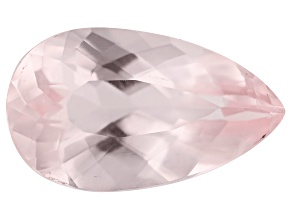 Morganite 3.70ct 14.7x8.6mm Pear Mined: Pakistan/Cut: India