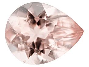 Morganite 1.89ct 10x8mm Pear Mined: Pakistan/Cut: India