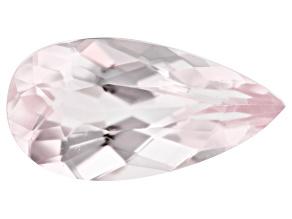 Morganite 1.95ct 12x6.2mm Pear Mined: Pakistan/Cut: India