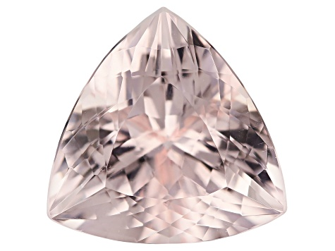 Morganite 16mm Trillion 11.89ct