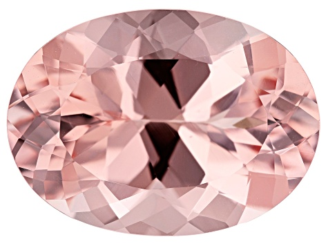 Morganite 10.57ct 18x13mm Oval