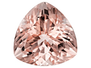 Morganite 13.7mm Trillion 8.01ct