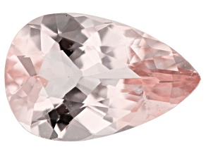 1.31ct Morganite 9.9x6.4mm Pear