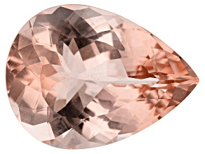 11.78ct Cor-De-Rosa Morganite 19x14mm Pear
