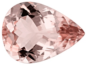 12.25ct Cor-De-Rosa Morganite 19.8x14.7mm Pear