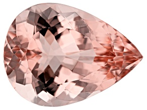 Morganite 20x15mm Pear Shape 14.00ct