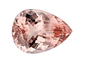 15.66ct Cor-De-Rosa Morganite 20x15mm Pear