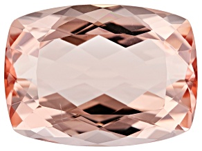 16.11ct Cor-De-Rosa Morganite 19x14mm Rect Cush