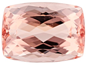 16.19ct Cor-De-Rosa Morganite 17.6x12.8mm Rect Cush