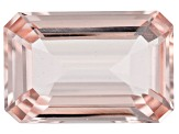6.20ct Morganite 14.5x9.5mm Rect Oct