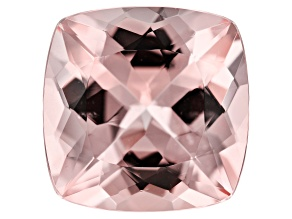 9.68ct Cor-De-Rosa Morganite 14mm Sq Cush