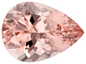 13.03ct Cor-De-Rosa Morganite 20x14.7mm Pear