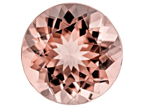 Morganite 14mm Round 8.58ct