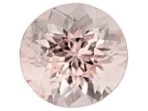Morganite 11mm round 5.54ct