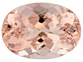 Morganite 14x10mm Oval 5.56ct