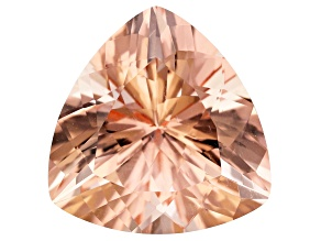 Morganite 17.5mm Trillion 15.88ct