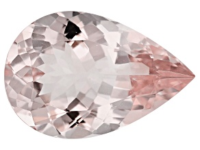 Morganite 15x10mm Pear Shape 4.16ct