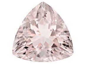 Morganite 14mm Trillion 7.21ct