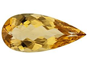 Golden Beryl 23x10.2mm Pear Shape 7.00ct
