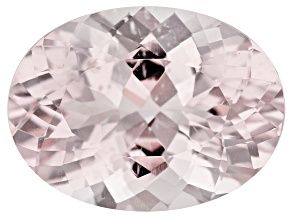 Morganite 16x12mm Oval 7.76ct
