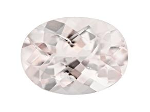 Morganite 13.5x10mm Oval Checkerboard Cut 4.80ct