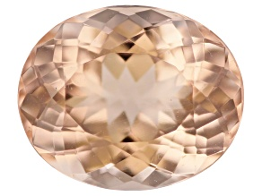 Morganite 11x9mm Oval 3.28ct