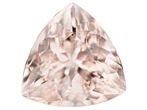 Morganite 10mm Trillion 2.87ct