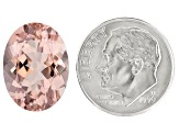 Morganite 16x12mm Oval 7.99ct