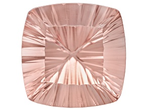 Morganite 18mm Square Cushion Quantum Cut 22.30ct
