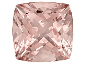 Morganite 14mm Square Cushion 12.25ct