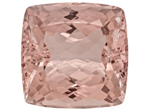 Morganite 17.3x16.8mm Square Cushion 22.58ct
