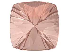 Morganite 20mm Square Cushion Quantum Cut 31.75ct