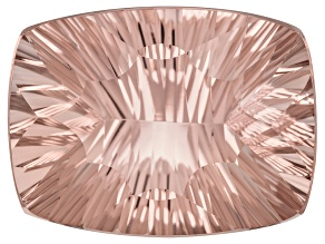 Morganite 23x17mm Rectangular Cushion Quantum Cut 26.17ct