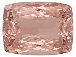 Morganite 21x16mm Rectangular Cushion 28.50ct